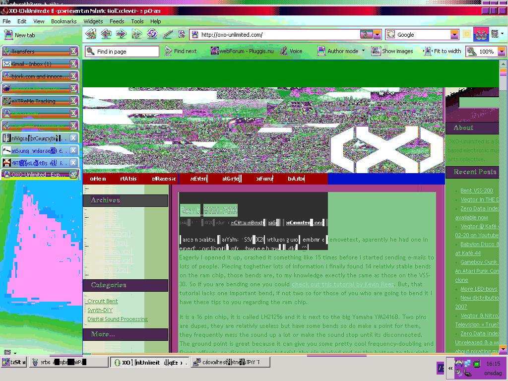Gameboy Genius Circuit Bending Tutorials Archives Bent Glitched Oxo Unlimited Homepage