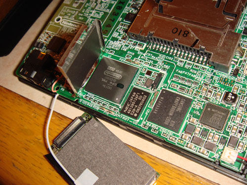 Inside the DSi - CPU area