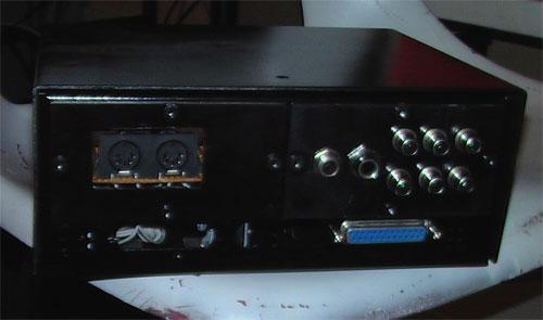 Keytar breakout box